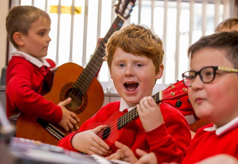 Junior Music Concert in School