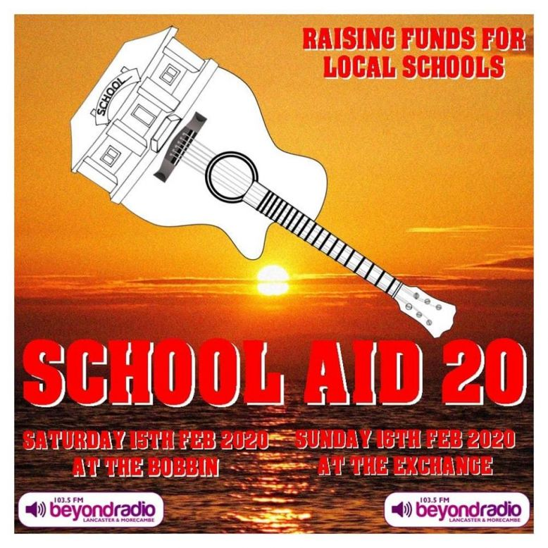School Aid 20 on Saturday 15th February at The Bobbin